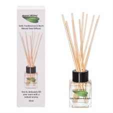 Amour Natural  Reed Diffuser Gold, Frank & My