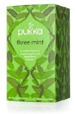 Pukka Herbs Three Mint Herbal Tea 20 sachet