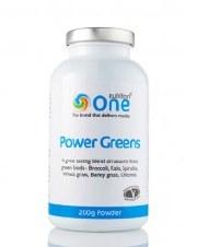 One Nutrition Power Greens Powder 100g