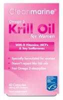 Cleanmarine Krill Oil for Women 60 caps