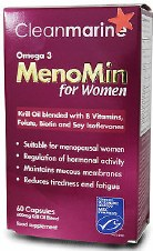 Cleanmarine MenoMin for Women - 60 Caps 60 caps