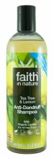 Faith in Nature Lemon & Tea Tree Shampoo 400ml