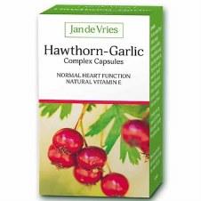 Jan De Vries Hawthorn-Garlic Complex 90 caps
