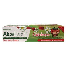 Aloe Dent Strawberry Childrens Toothpast 100 ml