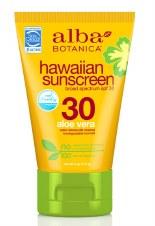Alba Botanica AB Aloe Vera Sunscreen SPF30 1 118ml