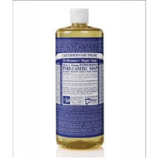 Dr Bronner's Magic Soap Org Peppermint Castile Soap 946 ml