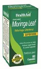 HealthAid Organic Moringa Leaf 60 capsule