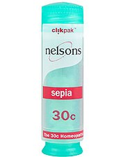 Nelsons Sepia 30c 84 tablets