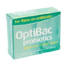 Optibac Probiotics For those on Antibiotics 10 caps