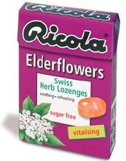 Ricola Elderflower Sugar Free 45g