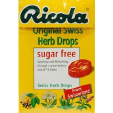 Ricola Sugar Free Lozenges Original 45g