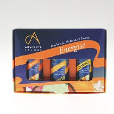 Absolute Aromas Absolute Aromas Energise 3 x10ml