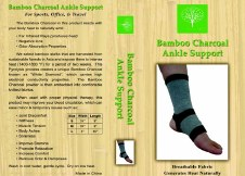 Healing Bamboo Ankle Support - medium Medium
