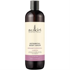 Sukin Bergamot & Patchouli Body Wash 500ml
