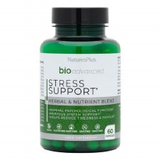 Natures Plus BioAdvanced Stress Support 60 Caps