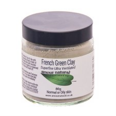 Amour Natural Clay green 200g Single item only No Cases