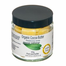 Amour Natural Cocoa Butter Buttons organic 2 Single item only No Cases