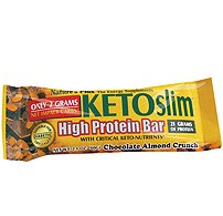 Nature's Plus ketoslim choc almond crunch 60g
