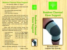 Healing Bamboo Knee Support - XL Extra Large