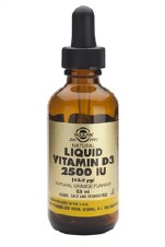 Solgar Vitamins Liquid Vit D3 2500 iu 59 ml