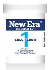 New Era No 1 Calc Fluor 240 tablets