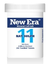New Era No 11 Nat Sulph 240 tablets
