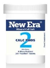 New Era No 2 Calc Phos 240 tablets