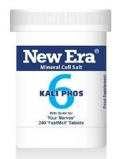 New Era No 6 Kali Phos 240 tablets