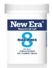 New Era No 8 Mag Phos 240 tablets