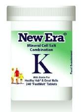 New Era Comb K Brittle Nails & Balding 240 tablets