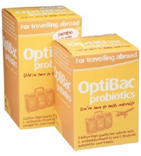 Optibac Probiotics For Travelling Abroad 3 x 20 capsule
