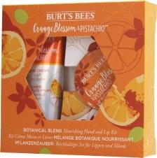 Burt's Bees Orange Pistachio Hand Lip Kit
