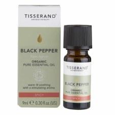 Tisserand Organic Black Pepper Oil 9ml