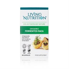Living Nutrition Organic Fermented Maca 60 caps