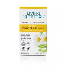 Living Nutrition Organic Your Flora Tranquil 60 caps