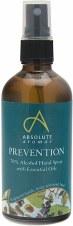Absolute Aromas Prevention Hand Spray  30ml