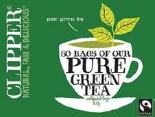 Clipper Organic Fairtrade Green Tea 50bag