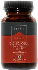 TerraNova Nutrition Dong Quai Soya Sprout Complex 100 vcaps