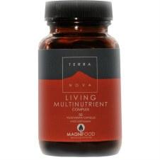 TerraNova Nutrition Living Multinutrient Complex   50 vcaps