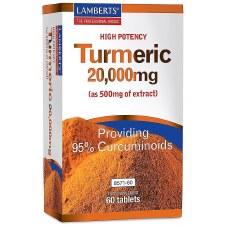 Lamberts TURMERIC 20000mg 60