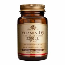 Solgar Vitamins Vitamin D3  2200iu 50 caps