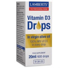 Lamberts VITAMIN D3 DROPS NEW   20ml