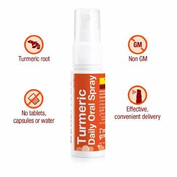 BetterYou Turmeric Oral Spray 25ml