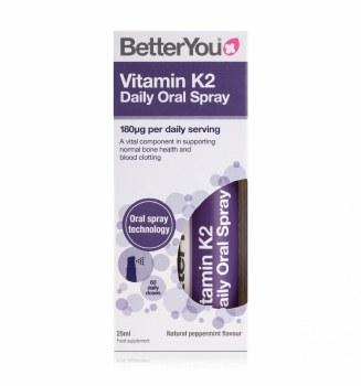 BetterYou Vitamin K2 Oral Spray 25ml