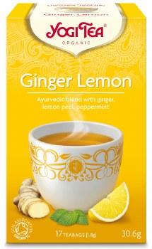 Yogi Tea Ginger Lemon 17bag