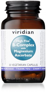Viridian High Five B-Complex - 30 Vegan Capsules