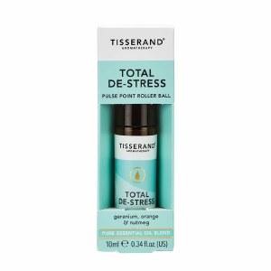 Tisserand Total De-Stress Aromatherapy Roller Ball 10ml