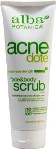 Alba Botanica Acne Dote Face & Body Scrub