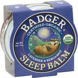 Badger Balm Certified Organic Sleep Balm with Lavender & Bergamot 21g