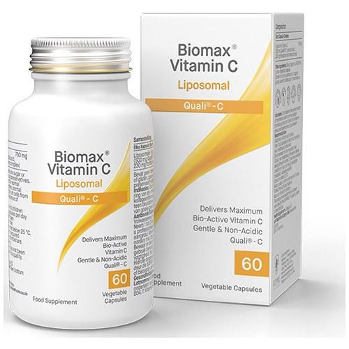 Biomax Liposomal Vitamin C Capsules x 30   Qualii-C